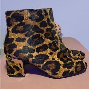 DKNY Corrie Animal Print Boots